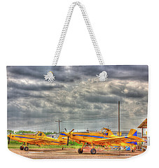 Crop Duster 003 Weekender Tote Bag