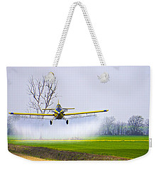 Precision Flying - Crop Dusting 1 Of 2 Weekender Tote Bag