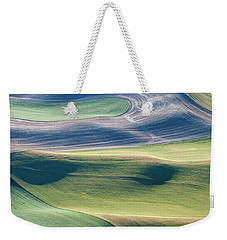 Crops And Contours Weekender Tote Bag