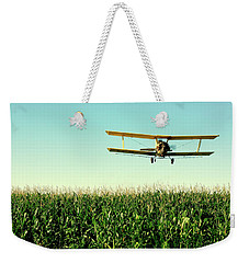 Crops Dusted Weekender Tote Bag by Todd Klassy