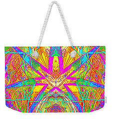 Cross 3 11 17 Weekender Tote Bag