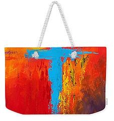 Cross 3 Weekender Tote Bag