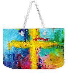 Cross 7 Weekender Tote Bag