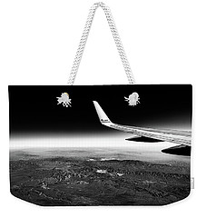 Cross Country Via Outer Space Weekender Tote Bag