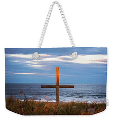 Cross Light Square Weekender Tote Bag by Terry DeLuco
