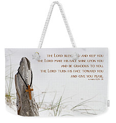 Cross Necklace Weekender Tote Bag