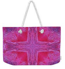 Cross Of Love Weekender Tote Bag