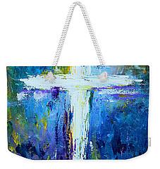Cross - Painting #4 Weekender Tote Bag