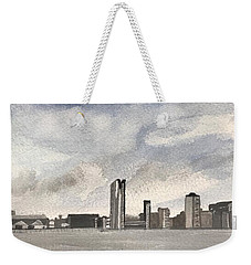 'cross The Mersey Weekender Tote Bag