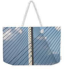 Crossing Blue - Weekender Tote Bag