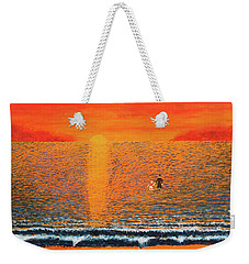 Crossing Over Weekender Tote Bag by Thomas Blood