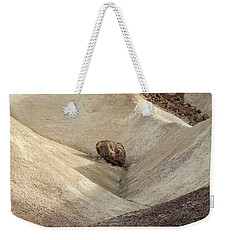 Weekender Tote Bag featuring the photograph Crossing Paths - Death Valley by Sandra Bronstein