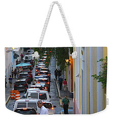 Crossing San Juan Weekender Tote Bag