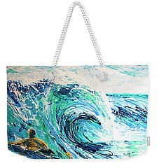 Crossing The Sandbar Weekender Tote Bag