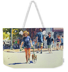 Crossing West 79th Weekender Tote Bag