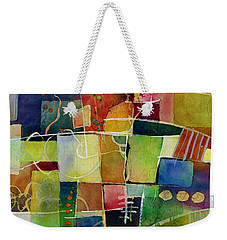 Crossroads 2 Weekender Tote Bag by Hailey E Herrera