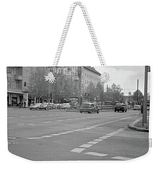 Crossroads In Prenzlauer Berg Weekender Tote Bag