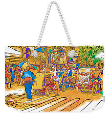 Crosswalk In The Philippines Weekender Tote Bag