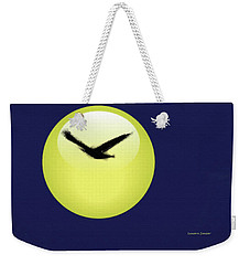 Crow Weekender Tote Bag
