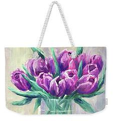 Crowd Of Tulips Weekender Tote Bag