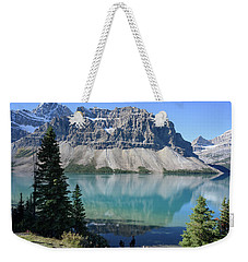 Crowfoot Mountain Weekender Tote Bag by Keith Boone