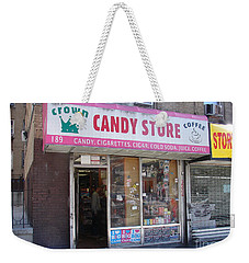 Crown Candy Store  Weekender Tote Bag by Cole Thompson