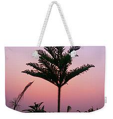Crown In Pink Sky Weekender Tote Bag