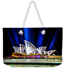 Weekender Tote Bag featuring the photograph Crown Jewels by Az Jackson