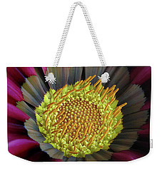 Weekender Tote Bag featuring the photograph Crown Of Pollen by David and Carol Kelly