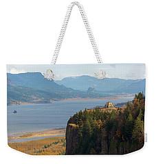 Crown Point On Columbia River Gorge Weekender Tote Bag