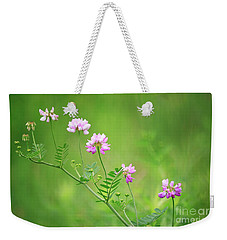 Crown Vetch Wildflower Weekender Tote Bag