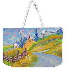 Crows At Blue Rocks  Weekender Tote Bag
