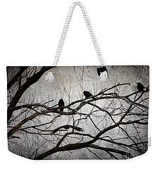 Crows At Midnight Weekender Tote Bag
