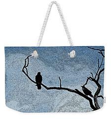 Crows On A Branch Weekender Tote Bag