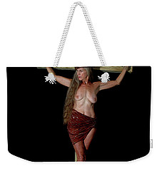Crucifixion Of A Woman Weekender Tote Bag
