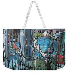 Crude Pricing Weekender Tote Bag
