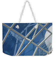 Cruise Ship Abstract Girders And Dome 2 Weekender Tote Bag