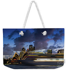 Cruise Ship Sydney Harbour Weekender Tote Bag