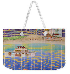 Cruise Vacation Destination Weekender Tote Bag