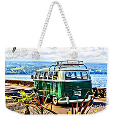 Weekender Tote Bag featuring the photograph Cruisin' 808 by DJ Florek