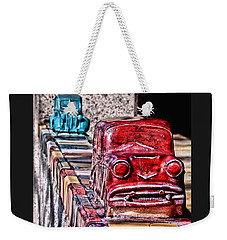 Cruisin' Weekender Tote Bag by Christy Ricafrente