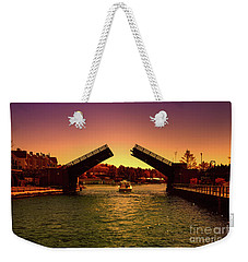 Weekender Tote Bag featuring the photograph Cruisin In Color by Rachel Cohen