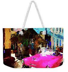 Cruising In Havana Weekender Tote Bag