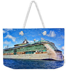 Cruising Thru Life Weekender Tote Bag