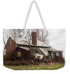 Crumbling Weekender Tote Bag