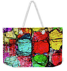 Crumbling Stone Wall Weekender Tote Bag