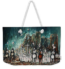 Marching Out Weekender Tote Bag