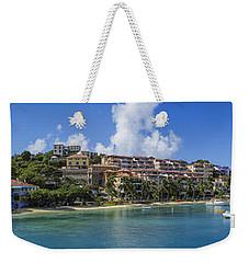 Weekender Tote Bag featuring the photograph Cruz Bay, St. John by Adam Romanowicz