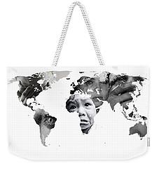 Crying Earth Weekender Tote Bag