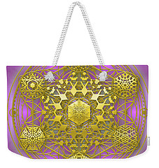Crystal 1 Weekender Tote Bag by Robert Thalmeier